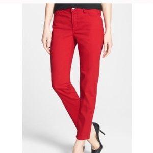 NYDJ Clarissa Ankle Skinny Jean 12P Lolli[pop NEW